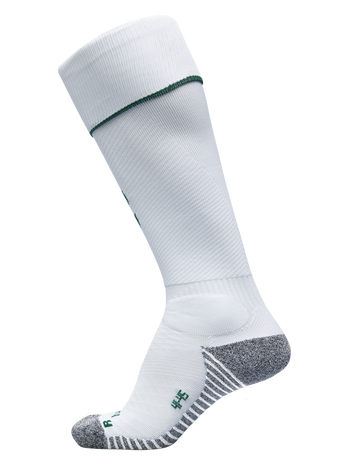PRO FOOTBALL SOCK, WHITE/EVERGREEN, packshot