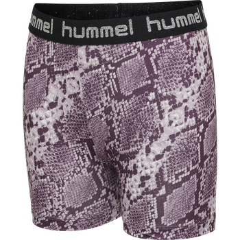 hmlMIMMI TIGHT SHORTS, MAUVE SHADOW, packshot