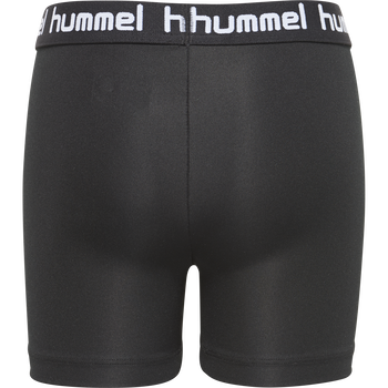 HMLTONA TIGHT SHORTS, BLACK, packshot