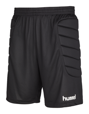 ESSENTIAL GK SHORTS W PADDING, BLACK, packshot