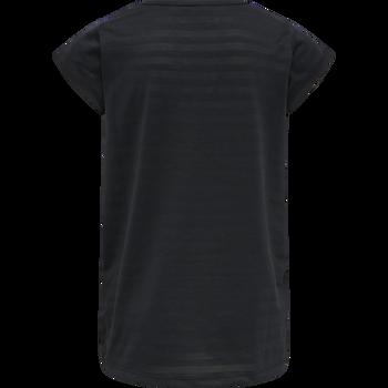 hmlSUTKIN T-SHIRT S/S, BLACK, packshot
