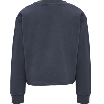 hmlCINCO SWEATSHIRT, OMBRE BLUE , packshot