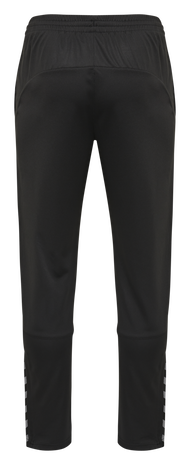 hmlAUTHENTIC KIDS POLY PANT, BLACK/WHITE, packshot