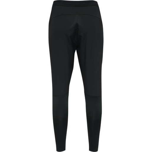 hmlRUFUS TAPERED PANTS, BLACK, packshot