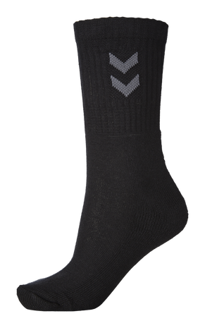 3-Pack Basic Sock, BLACK, packshot