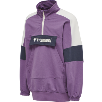 hmlVALERIE LONG SWEATSHIRT, CHINESE VIOLET, packshot