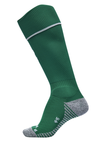 PRO FOOTBALL SOCK, EVERGREEN/WHITE, packshot
