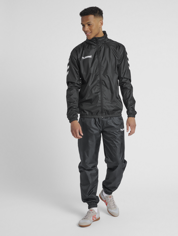CORE ALL-WEATHER PANT, BLACK, model
