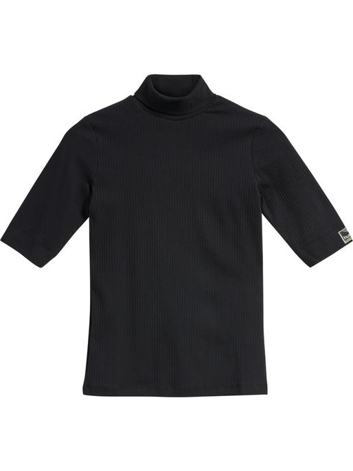 hmlBELL TURTLENECK S/S, BLACK, model