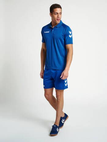 CORE FUNCTIONAL POLO, TRUE BLUE, model