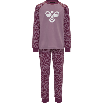 hmlAVIAJA NIGHTSUIT, HEATHER ROSE, packshot