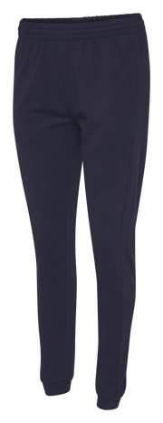 HUMMEL GO COTTON PANTS WOMAN, MARINE, packshot