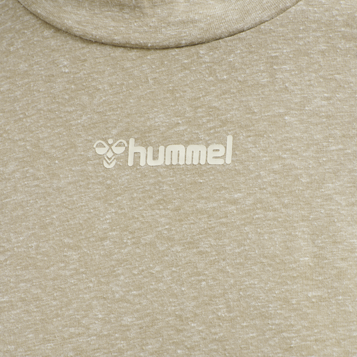 hmlZANDRA DRESS, HUMUS MELANGE, packshot