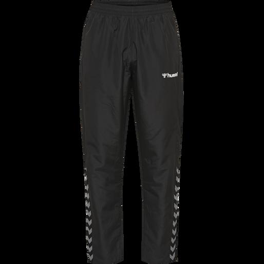 hmlAUTHENTIC MICRO PANT, BLACK/WHITE, packshot