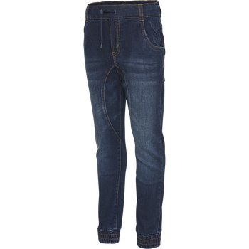 hmlCOSY PANTS, DARK DENIM, packshot