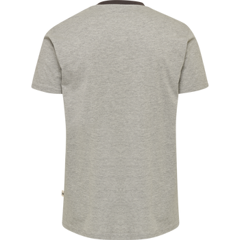 hmlMOVE KIDS T-SHIRT, GREY MELANGE, packshot
