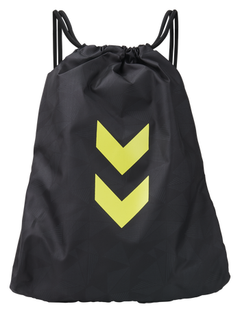 hmlACTIVE GYM BAG, BLACK/SULPHUR, packshot