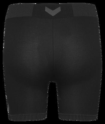 HUMMEL FIRST SEAMLESS SHORT TIGHTS WOMEN, BLACK, packshot
