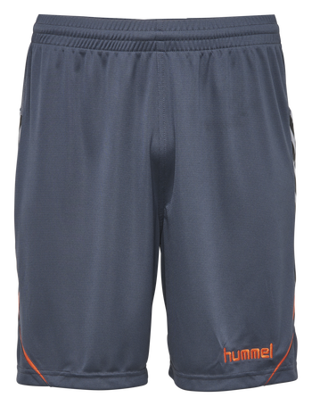 AUTH. CHARGE POLY SHORTS, OMBRE BLUE/NASTURTIUM, packshot