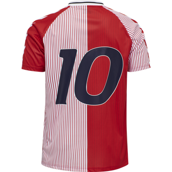 DBU 20/21 RETRO JERSEY S/S, RED/WHITE, packshot