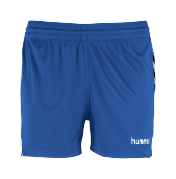 AUTHENTIC CHARGE POLY SHORTS WOMAN, TRUE BLUE, packshot