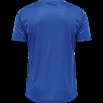 HMLLEX TEE T-SHIRT S/S TEE, WINTER BLUE, packshot