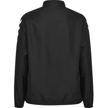CORE KIDS MICRO ZIP JACKET, BLACK, packshot