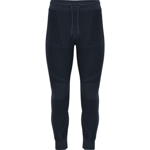 hmlCUBE SEAMLESS TAPERED PANTS, BLUE NIGHTS, packshot