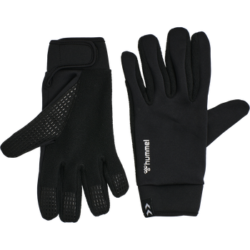 HUMMEL WARM PLAYER GLOVE, BLACK, packshot