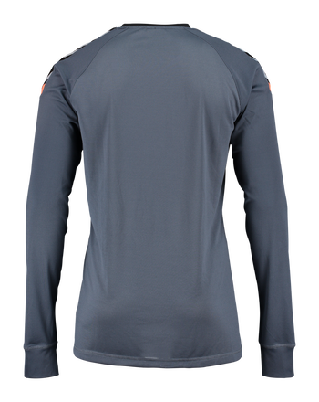 AUTH. CHARGE LS POLY JERSEY, OMBRE BLUE/NASTURTIUM, packshot