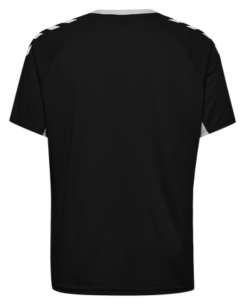 CORE TEAM JERSEY S/S, BLACK, packshot