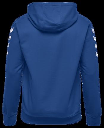 CORE COTTON HOODIE, TRUE BLUE, packshot
