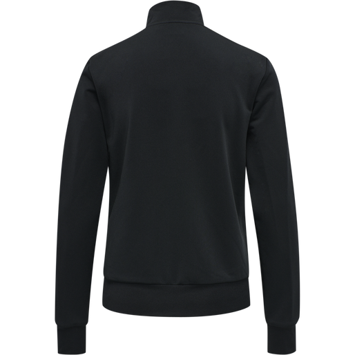hmlNELLY 2.0 ZIP JACKET, BLACK, packshot