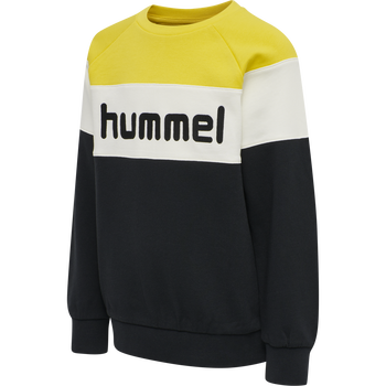 hmlCLAES SWEATSHIRT, MAIZE, packshot