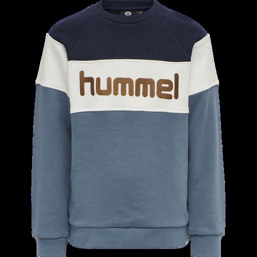 hmlCLAES SWEATSHIRT, CHINA BLUE, packshot