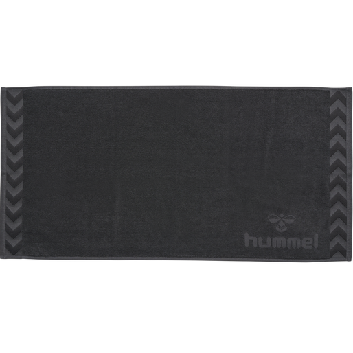 HUMMEL SMALL TOWEL, ASPHALT, packshot