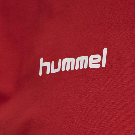 HUMMEL GO COTTON T-SHIRT S/S, !TRUE RED, packshot