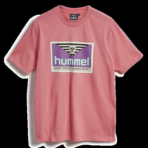 hmlFRESH T-SHIRT, TEA ROSE, packshot