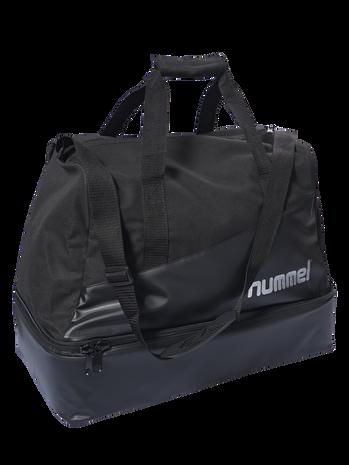 AUTHENTIC CHARGE SOCCER BAG, BLACK, packshot