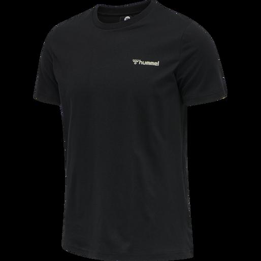 hmlTORONTO T-SHIRT, BLACK, packshot