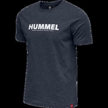 hmlLEGACY T-SHIRT, BLUE NIGHTS, packshot