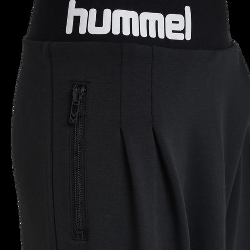 hmlMYNTE PANTS, BLACK, packshot