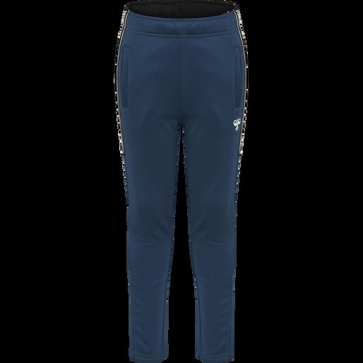 hmlASK PANTS, MAJOLICA BLUE, packshot