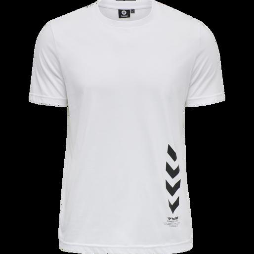 hmlDUNCAN T-SHIRT, WHITE, packshot