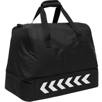 CORE FOOTBALL BAG, BLACK, packshot