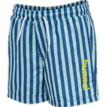 hmlCHILL BOARD SHORTS, MYKONOS BLUE, packshot