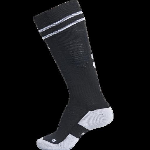 ELEMENT FOOTBALL SOCK , BLACK/WHITE, packshot