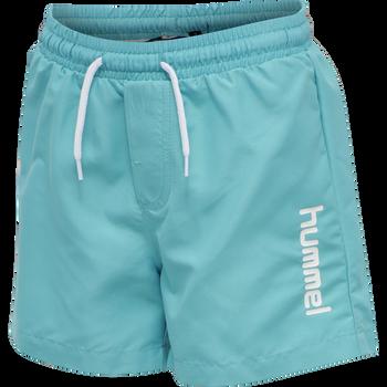 hmlBONDI BOARD SHORTS, SCUBA BLUE, packshot