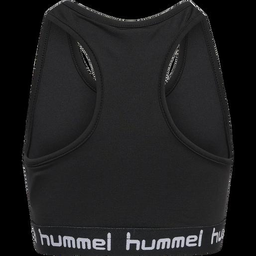 hmlMIMMI SPORTS TOP, BLACK, packshot