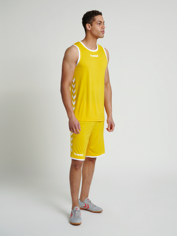CORE BASKET JERSEY, SPORTS YELLOW, model